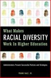What Makes Racial Diversity Work in Higher Education 1st Edition
