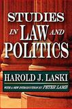 Studies in Law and Politics, Laski, Harold, 1412810698