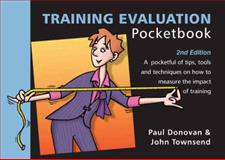 The Training Evaluation Pocketbook, Donovan, Paul and Townsend, John, 190661069X