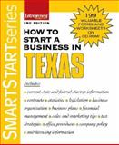 How to Start a Business in Texas, Entrepreneur Press Staff, 1599180693