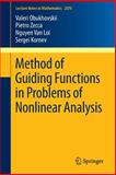 Method of Guiding Functions in Problems of Nonlinear Analysis, Obukhovskii, Valeri and Zecca, Pietro, 3642370691