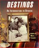 Destinos : An Introduction to Spanish, Van Patten, Bill and Marks, Martha Alford, 0070020698
