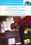 Campaign and Election Reform, Glenn H. Utter and Ruth Ann Strickland, 159884069X