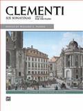 Clementi -- Six Sonatinas, Op. 36, Muzio Clementi, 0739000705