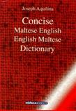 Concise Maltese-English-Maltese Dictionary, , 9993270709