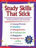 Study Skills That Stick, Margaret Nuzum, 0439060702