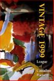 Vintage 1999, League of Canadian Poets Staff, 0921870701