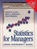 Statistics Managers Use Excel Update, Levine, David M. and Berenson, Mark, 0130950718