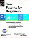 Nolo's Patents for Beginners, David Pressman and Richard Stim, 1413300715