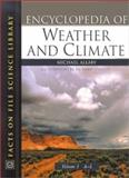 Encyclopedia of Weather and Climate, Allaby, Michael, 0816040710