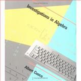 Investigations in Algebra 9780262530712