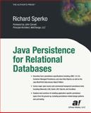 Java Persistence for Relational Databases, Sperko, Richard, 1590590716