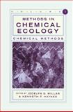 Methods in Chemical Ecology 9780412080715