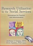 Research Utilization in the Social Services : Innovations for Practice and Administration, Simon Slavin, Anthony J Grasso  Dsw, Irwin Epstein, 1560240717