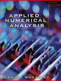 Applied Numerical Analysis, Gerald, Curtis and Wheatley, Patrick O., 020187072X