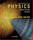Fundamentals of Physics Extended, Halliday, David and Resnick, Robert, 1118230728