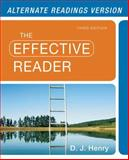 Effective Reader, the, Alternate Edition, Henry, D. J., 0321880722