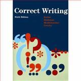 Correct Writing, Butler, Eugenia, 0669340731