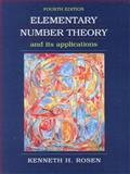 Elementary Number Theory and Its Applications, Rosen, Kenneth, 0201870738