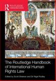 Routledge Handbook of International Human Rights Law, Rodley, Nigel and Sheeran, Scott, 0415620732