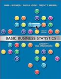 Basic Business Statistics, Berenson and Berenson, Mark L., 0132780739