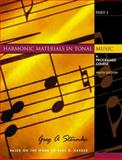Harmonic Materials in Tonal Music Pt. 1 : A Programed Course, Steinke, Greg A., 0130910732