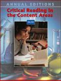 Annual Editions : Critical Reading in the Content Areas 04/05, Moss, Glenda, 0072970731