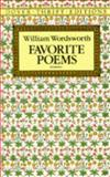 Favorite Poems, William Wordsworth, 0486270734