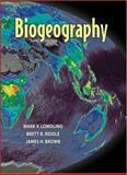 Biogeography, Brown, James H. and Lomolino, Mark V., 0878930736