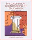 Philosophical Foundations of Education, Craver, Samuel M. and Ozmon, Howard A., 0132540746