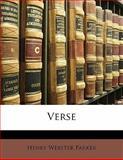 Verse, Henry Webster Parker, 1141350742