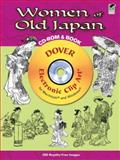 Women of Old Japan CD-ROM and Book, Kamisaka Sekka, 0486990745