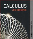 Calculus : Early Transcendentals, Rogawski, Jon, 1429210745