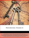 Proceedings, Institution of Municipal Engineers (Grea, 1147740747