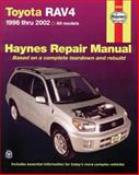Toyota Rav4, 1996 Thru 2012, Haynes Manuals, Inc. Editors, 1620920743