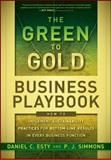 The Green to Gold Business Playbook 1st Edition