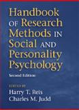 Handbook of Research Methods in Social and Personality Psychology, , 1107600758