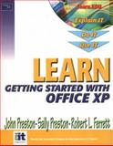 Learn Microsoft Office XP-Getting Started, Preston, John and Preston, Sally, 0130460753