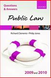 Q and A Public Law 2009 And 2010, Clements, Richard and Jones, Philip, 0199560757