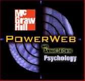 PowerWeb : Psychology, Passer, Michael W. and Smith, Ronald E., 0072470755