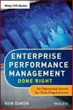 Enterprise Performance Management Done Right 1st Edition