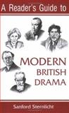 A Reader's Guide to Modern British Drama, Sternlicht, Sanford V., 081563076X