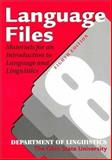 Language Files : Materials for an Introduction to Language and Linguistics, , 0814250769
