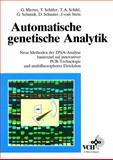 Automatische Genetische Analytik, Vom Stein, 3527300767