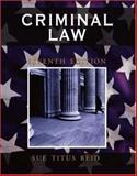Criminal Law, Reid, Sue Titus, 0195330765