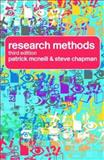 Research Methods, McNeill, Patrick and Chapman, Steve, 0415340764