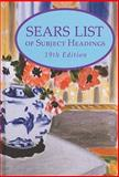 Sears List of Subject Headings, H. W. Wilson Company Staff, 082421076X
