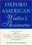 Oxford American Writer's Thesaurus, Christine A. Lindberg, 0195170768