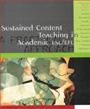 Sustained Content Teaching in Academic ESL/EFL, Marcia Pally and Nathalie Bailey, 0395960762