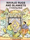 Navajo Rugs and Blankets Coloring Book, Chuck Mobley and Andrea Mobley, 0918080762